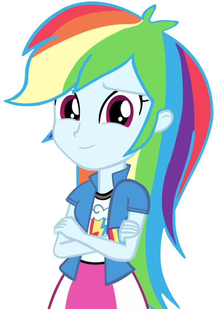 graphic transparent library Rainbow dash by cool. Vector cartoons human