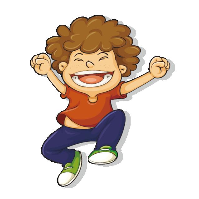 vector free download Happy child kids cartoon. Vector cartoons kid