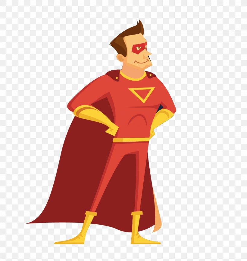 banner royalty free stock Vector cartoons superhero. Clark kent cartoon icon