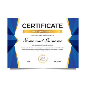 jpg royalty free Of png images vectors. Vector certificate achievement