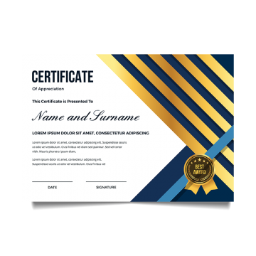 clip transparent Of png vectors psd. Vector certificate achievement
