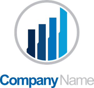 png freeuse Vector chart business. Finance company logo eps