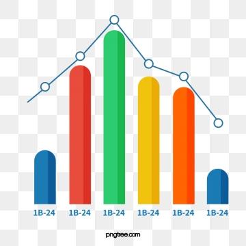 jpg freeuse Bar graph png psd. Vector chart clipart