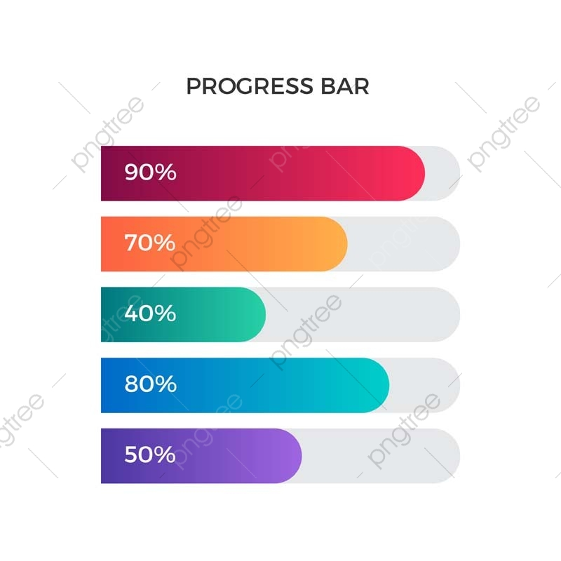 clip black and white download Progress bar business and. Vector chart modern