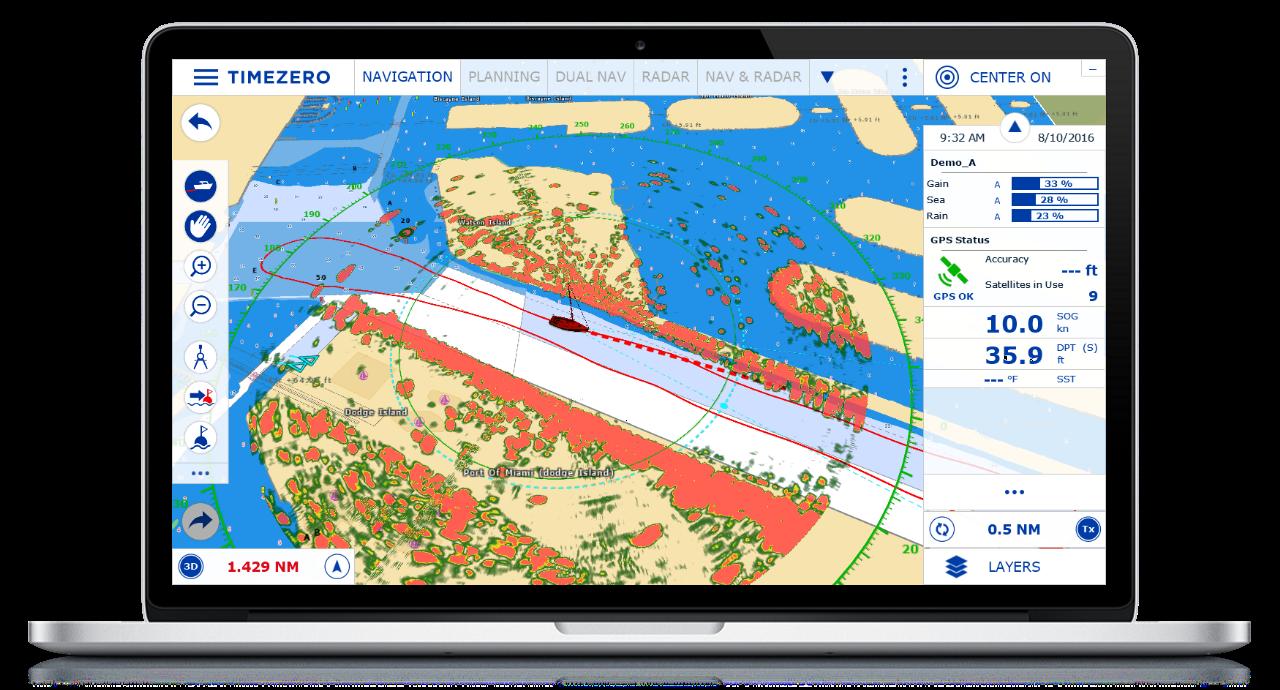 clipart royalty free download Timezero tz professional v. Vector charts navigation