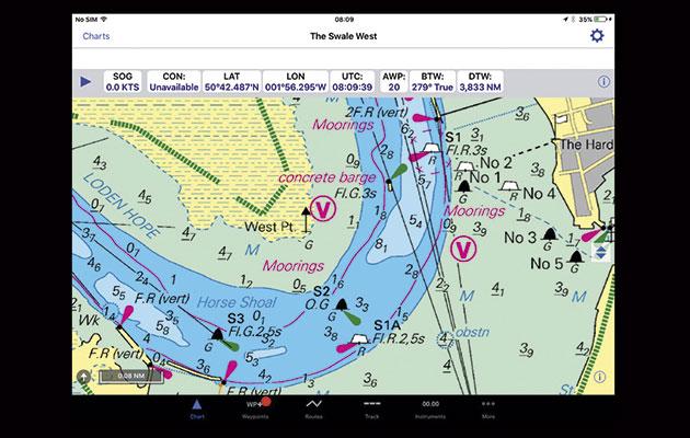 image free download Vector charts navigation. Inavx marine app for