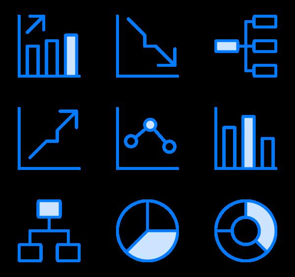 jpg download  bar profit icon. Vector chart psd