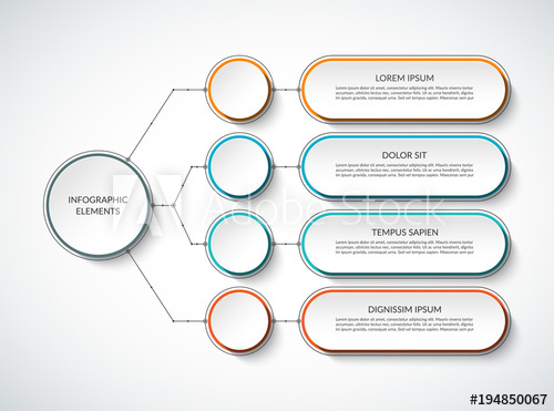 clip download Vector chart table. Infographic template with options