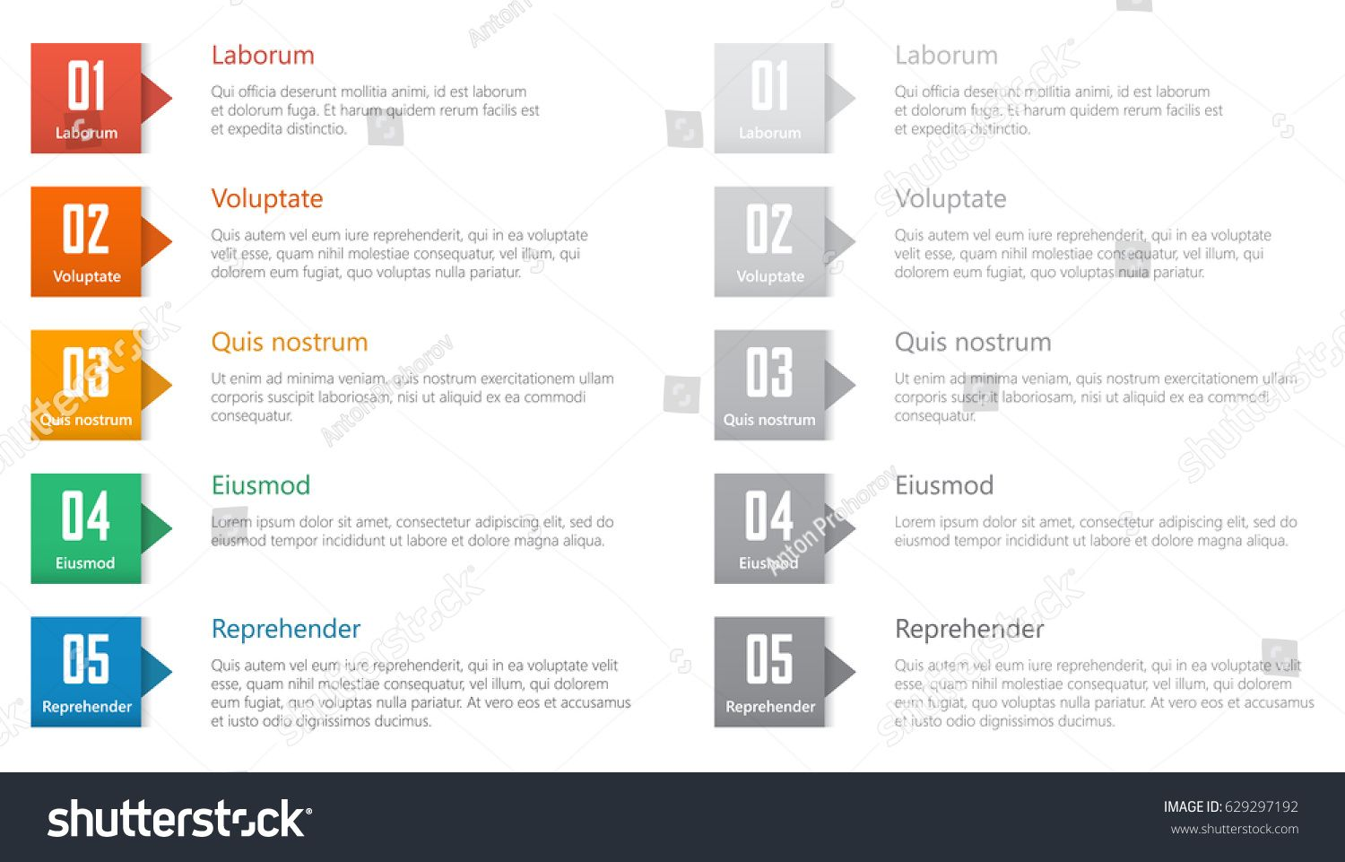 graphic transparent download Vector chart table. Design ranked numbered list