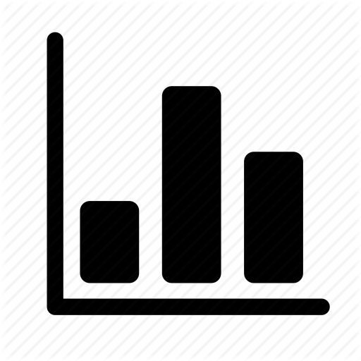 clipart black and white download Vector charts bar chart. Data by trevor dsouza