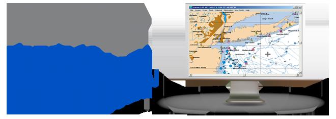 graphic Vector charts digital. Safe navigation inc