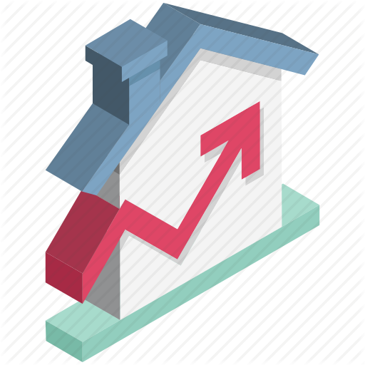 clip free library Real estate by brick. Vector charts pricing