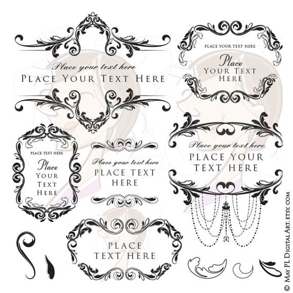 graphic free stock Vector clipart. Wedding floral png design