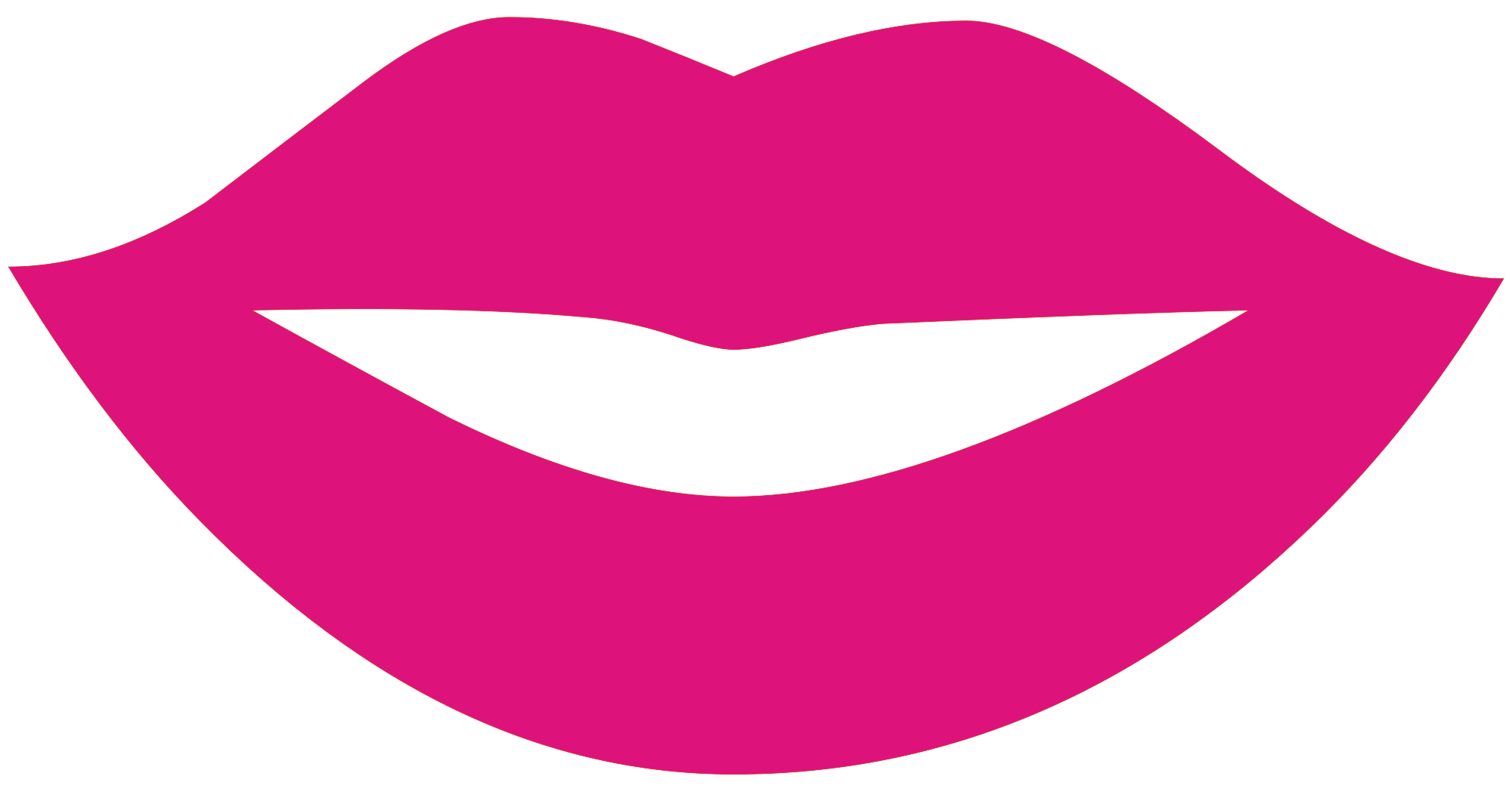 clip art transparent library Free Lips Vector