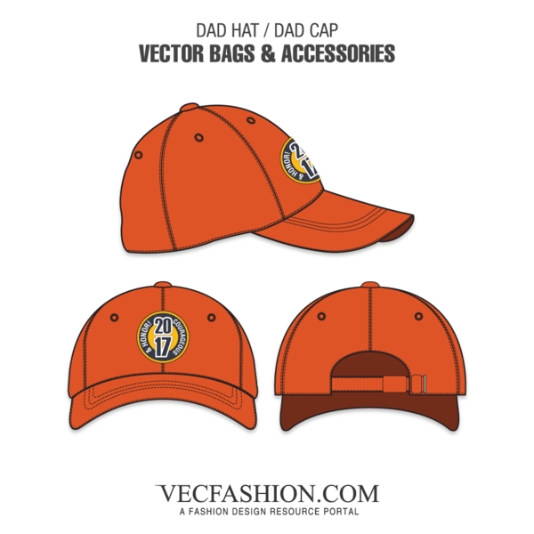 svg free stock Vector clothing dad hat. Or cap template vecfashion
