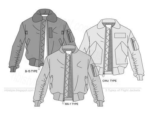 clip download Vector clothing flight jacket. B ma cwu jackets