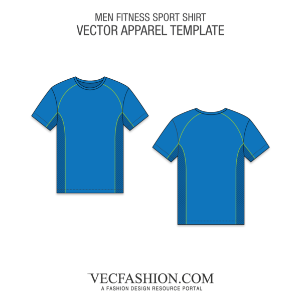 svg download Vector clothing garment shop. Fitness sport shirt template