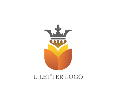 vector royalty free download U letter logo design. Vector clothing jewelry