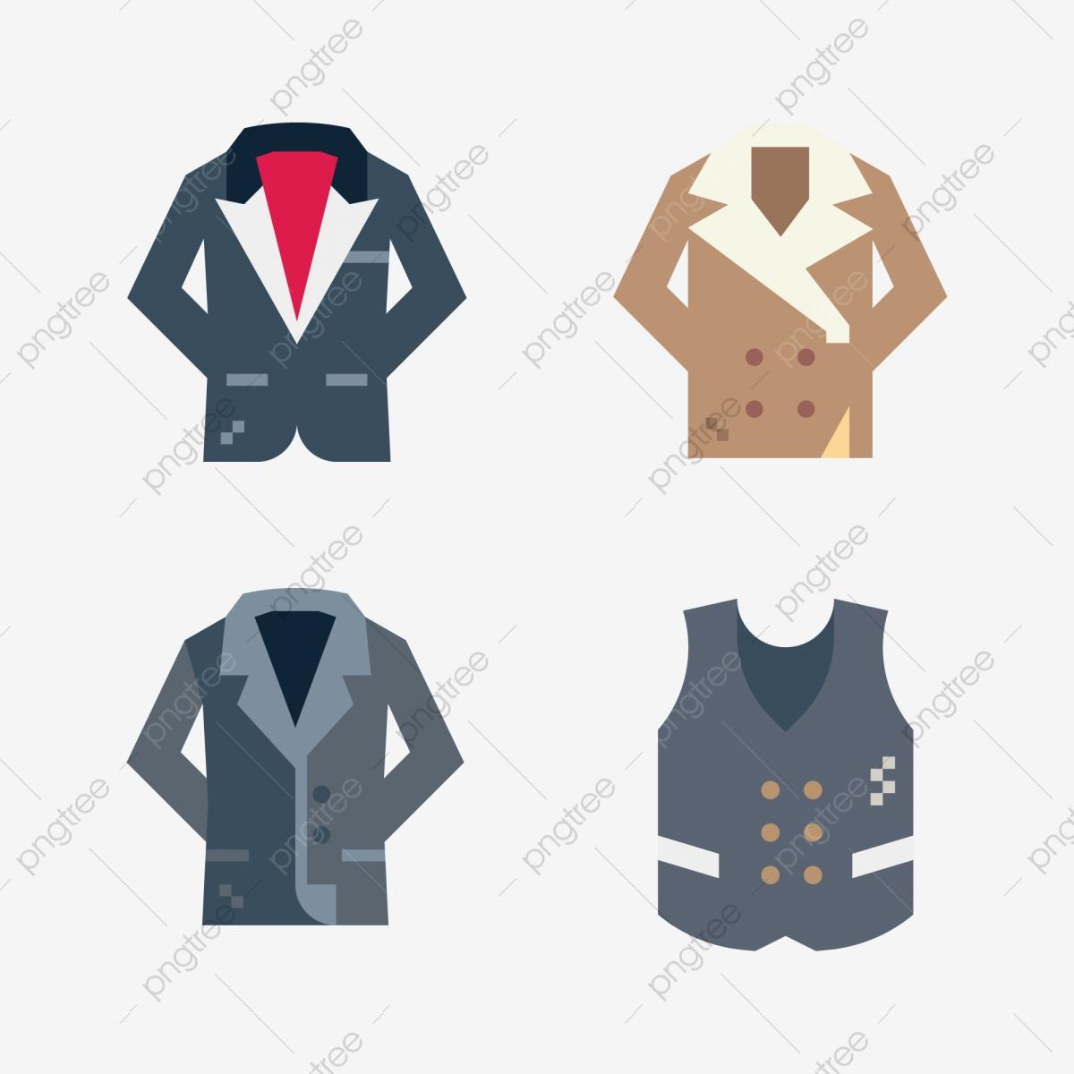 png free stock Vector clothing man clothes. Fashion men coat long