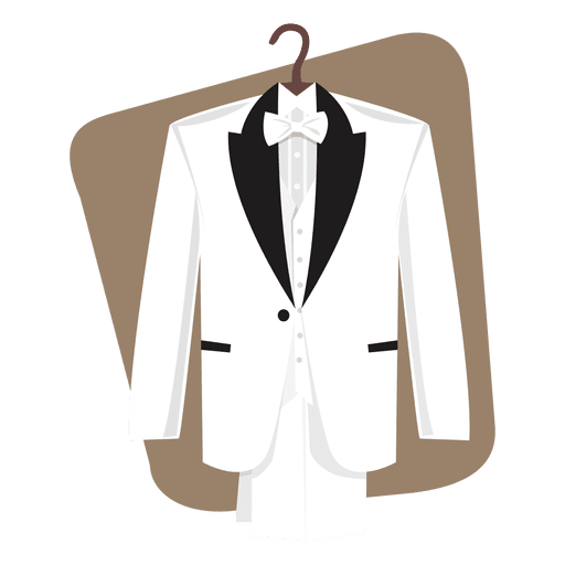 vector Wedding suit groom celebration. Vector clothing man dress