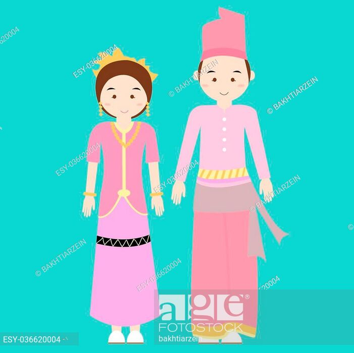 picture transparent library Vector clothing pakaian. Traditional clothes nusa tenggara
