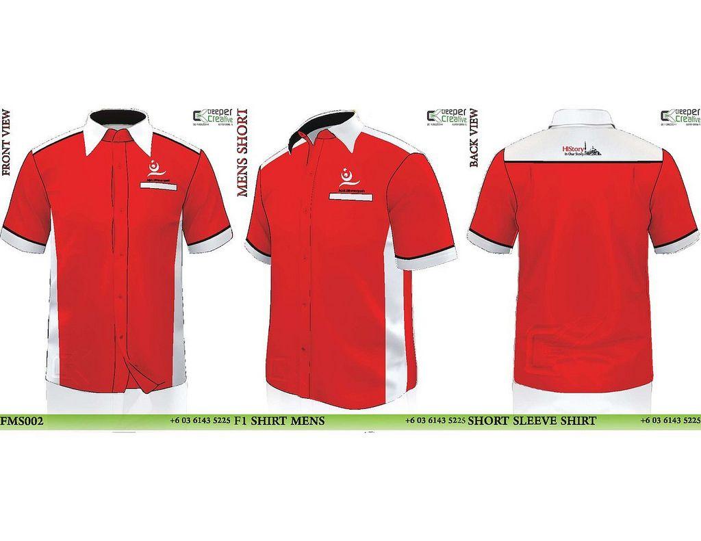 svg black and white Design baju korporat . Vector clothing pakaian