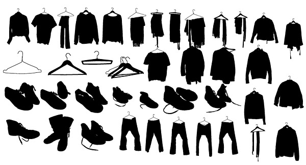graphic free Vector clothing shoe. Clothes shoes over millions