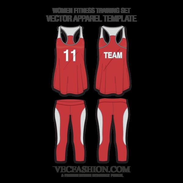 jpg royalty free download Vector clothing sportswear. Women set apparel pinterest