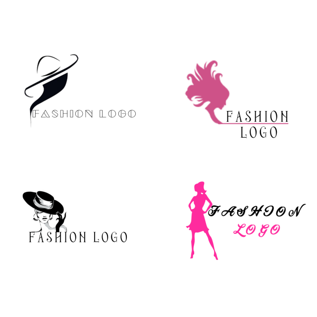 image library download Fashion clothing logo Free Template Vector Template for Free
