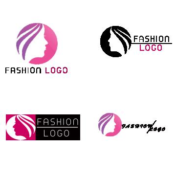 clip freeuse library Fashion logo png vectors. Vector clothing visiting card