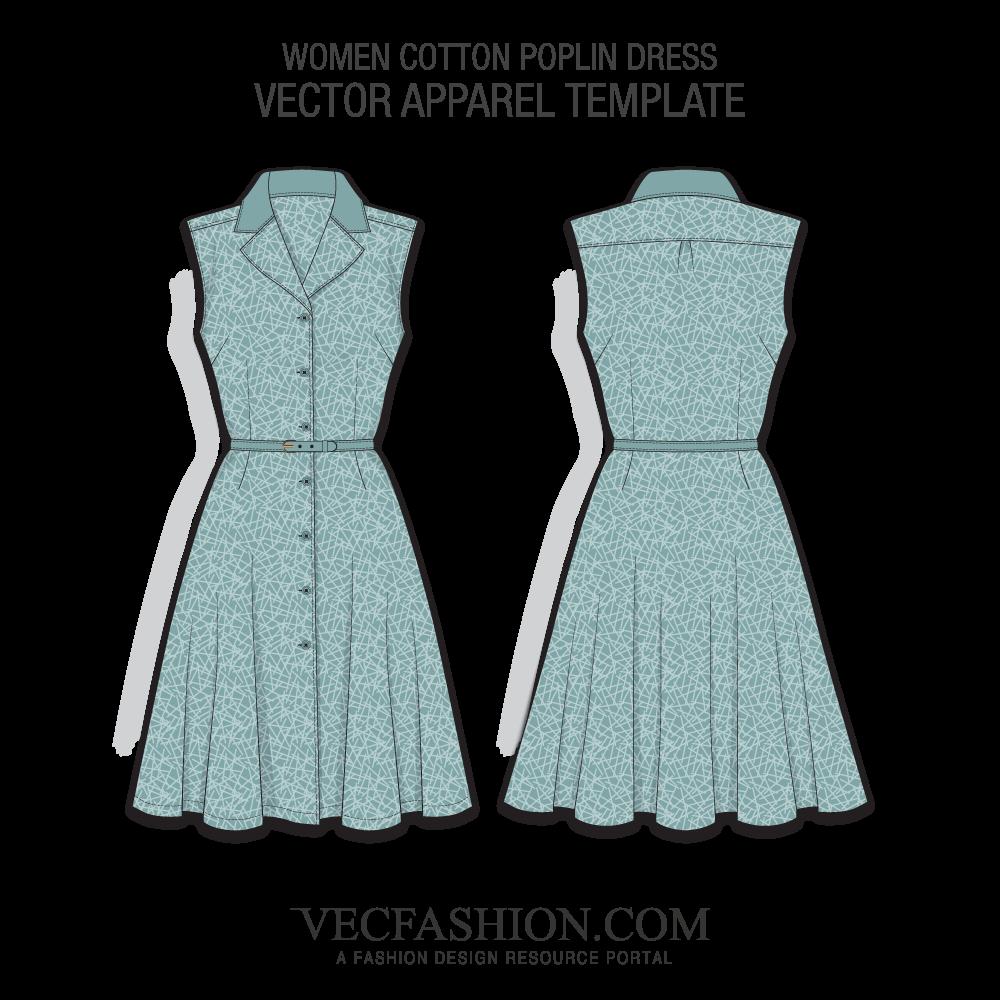vector transparent Vector clothing women's. Dresses suits vecfashion cotton