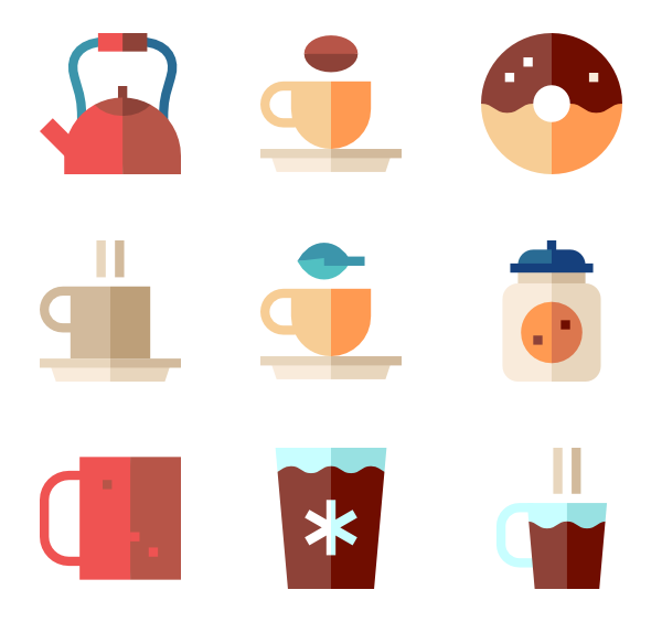 graphic transparent download Coffee cup Icons