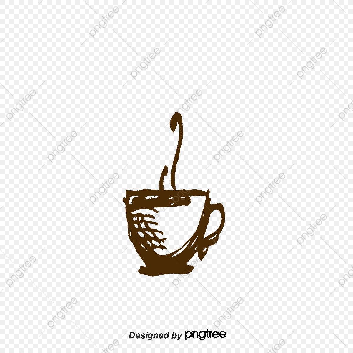 jpg royalty free stock Vector coffee abstract. Cup mug png