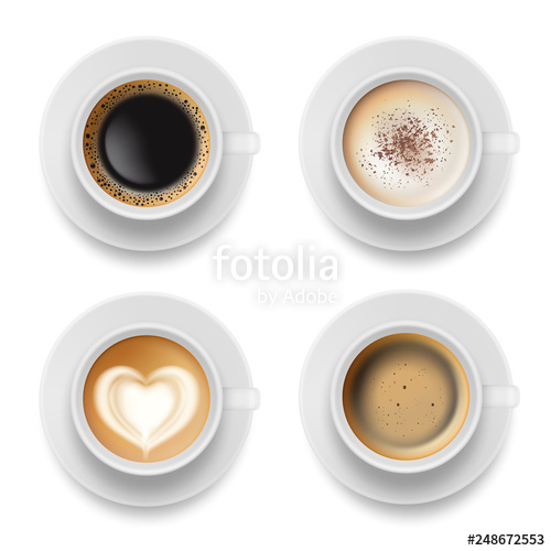 svg transparent stock Cup top hot milk. Vector coffee breakfast