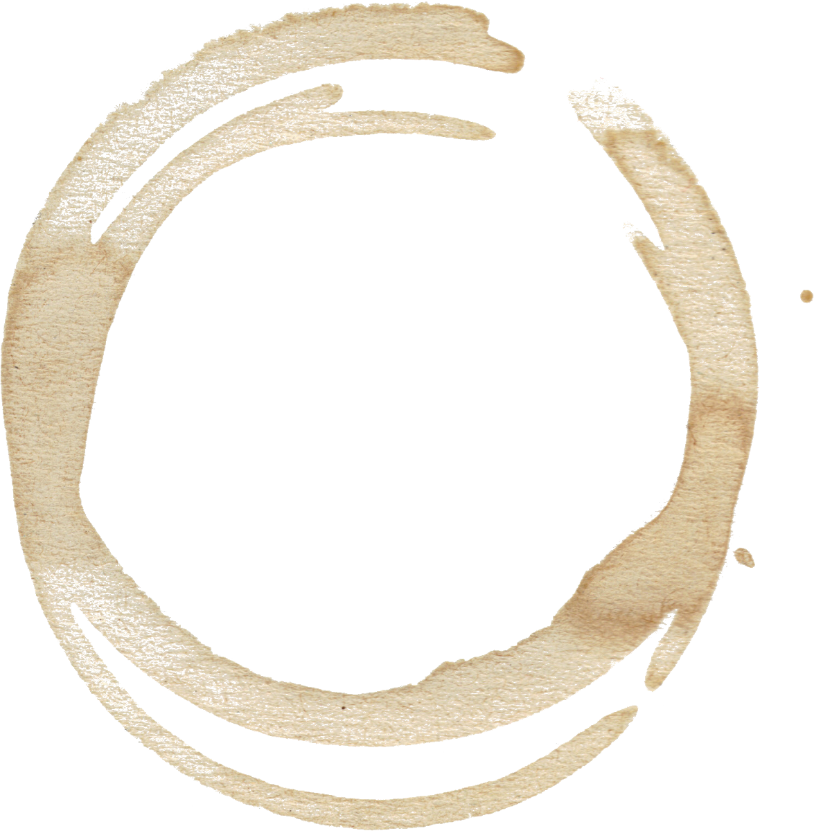 graphic transparent stock Vector coffee circle.  stains set png