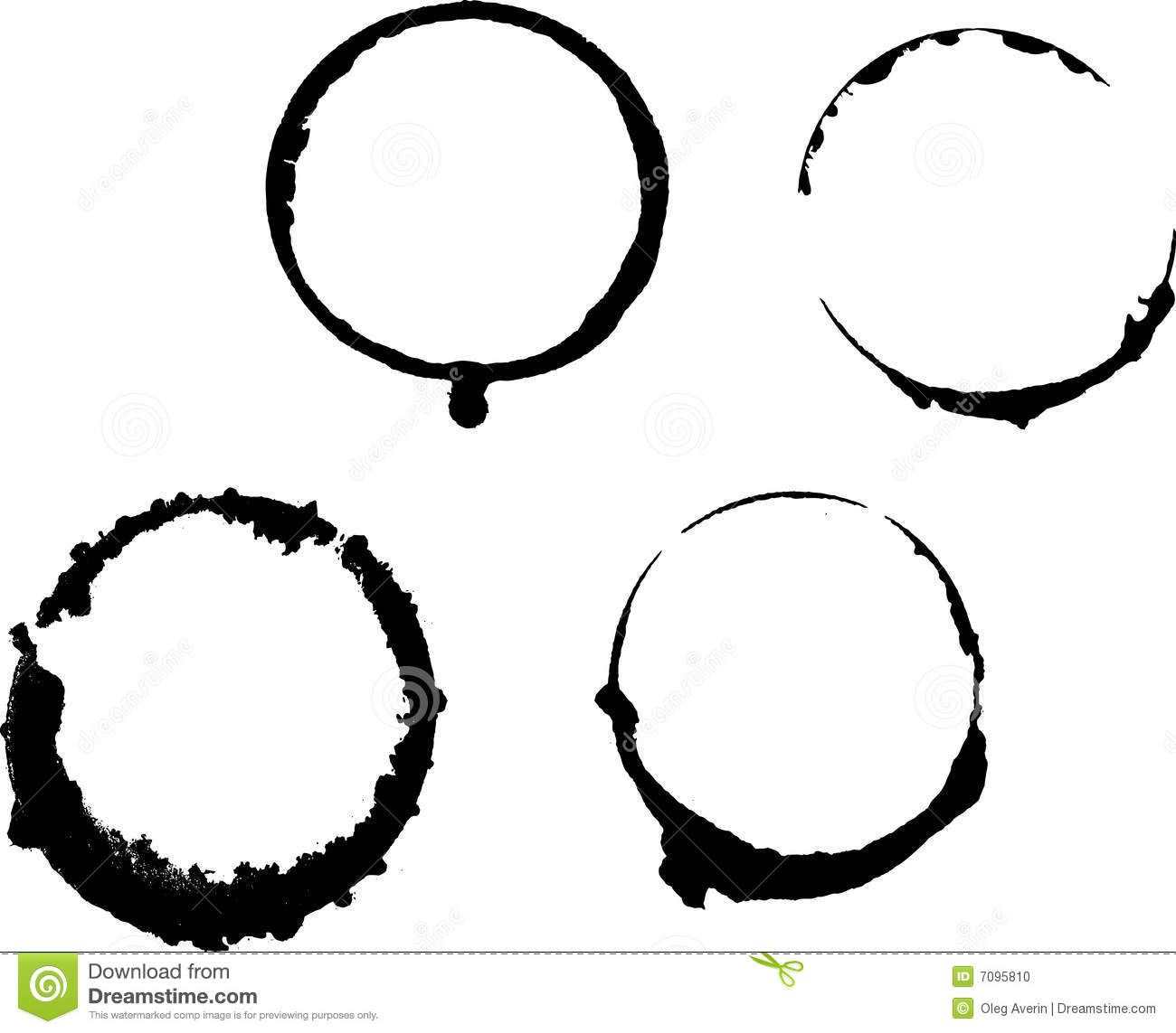 vector free stock Stains download from over. Vector coffee circle