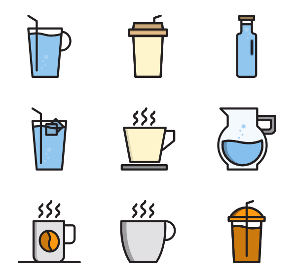 image freeuse library Icons free. Vector coffee cup