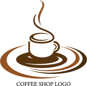 svg transparent library Shop logo ai free. Vector coffee design
