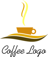 image free library Drink logo ai free. Vector coffee hot