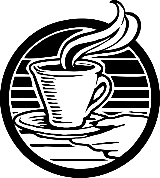 clip art free library Vector coffee label.  png for free