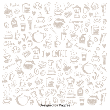 svg freeuse Hot drink png vectors. Vector coffee pattern
