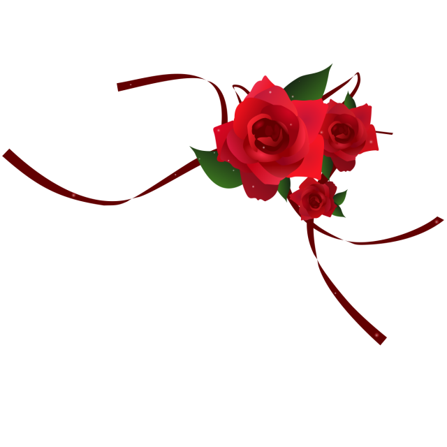 graphic free stock Png red border image. Vector coffee rose