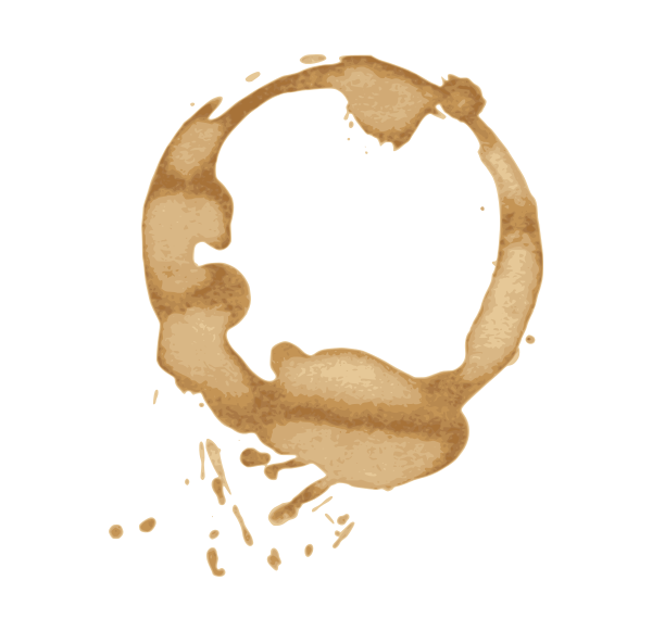 picture royalty free download  stain vectors svg. Vector coffee spilt