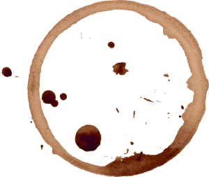 clip art library Vector coffee splatter.  stain rings png