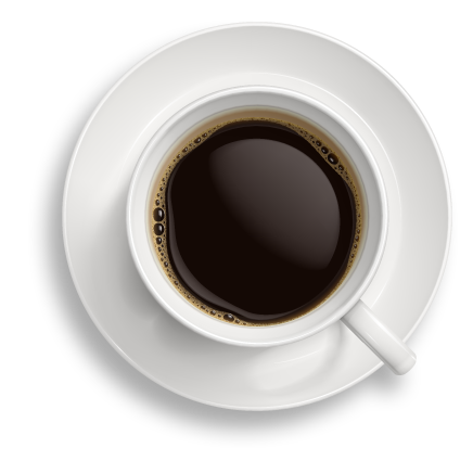 jpg freeuse stock Cup png image graphic. Vector coffee top view