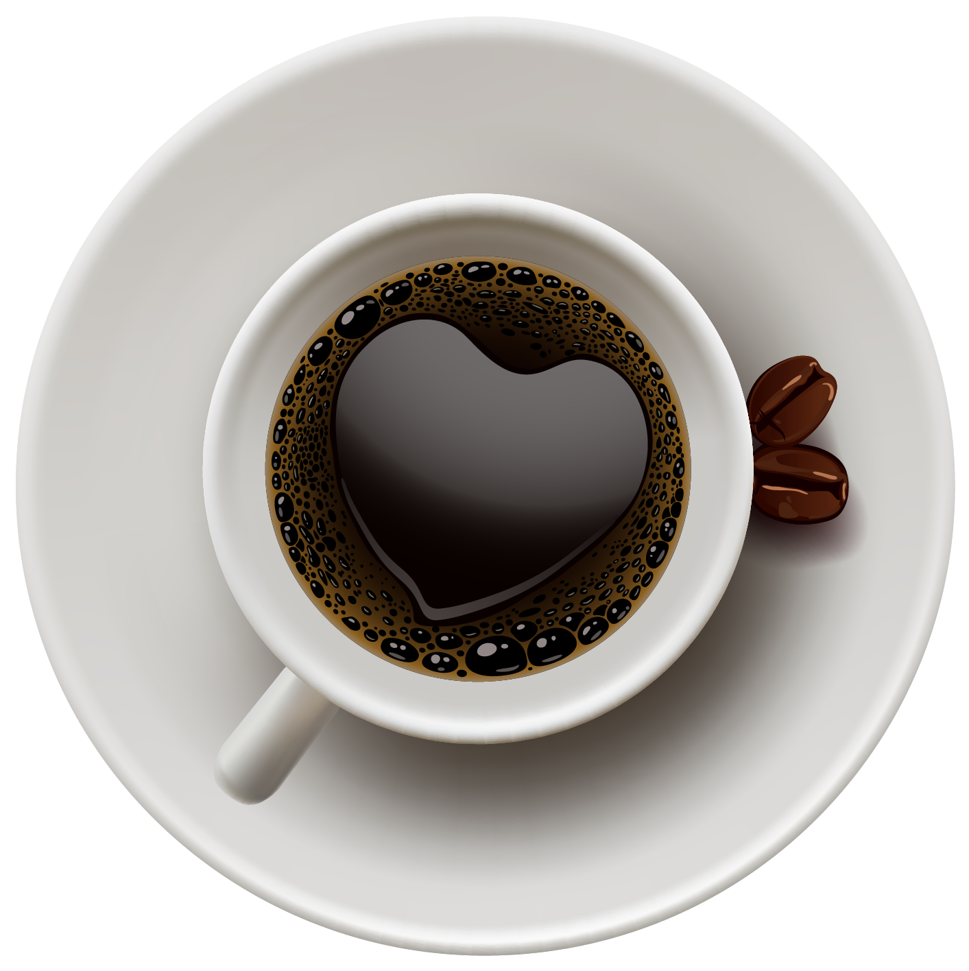 jpg download Vector coffee top view.  best cups boutiques