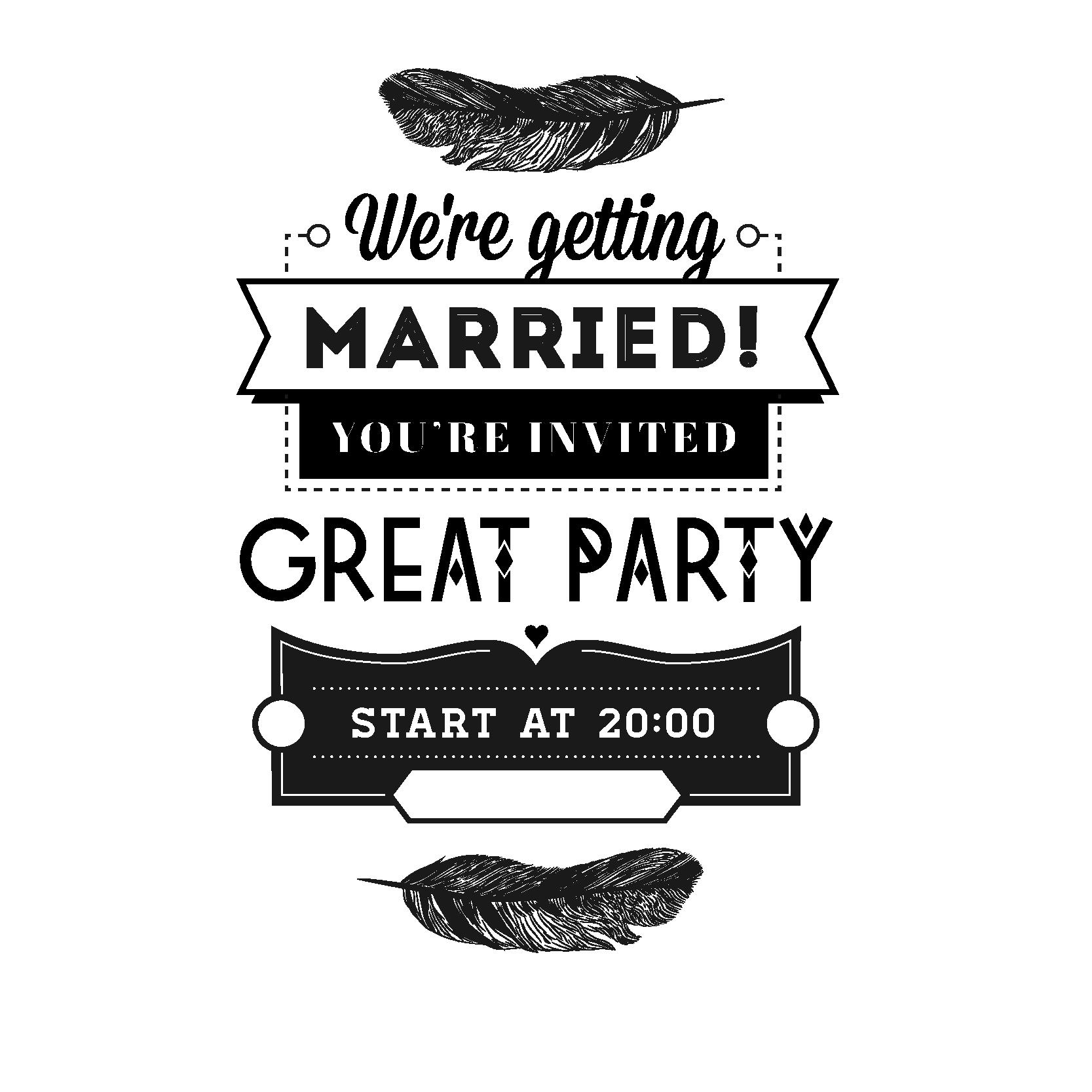 clip art library stock Wedding invitation stock vintage. Vector coffee typography