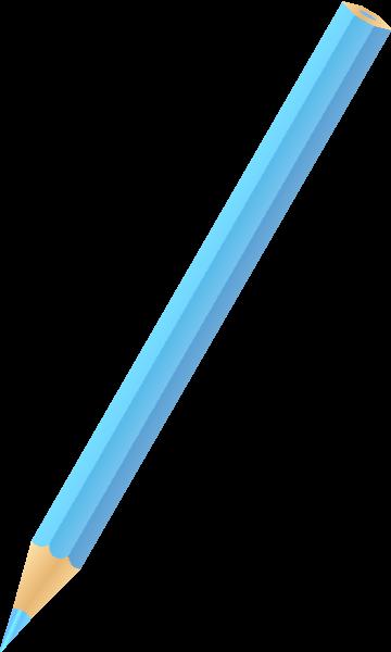 library Vector color blue. Pencil light icon svg