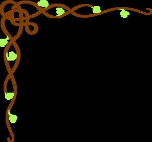 jpg black and white Vector color border. Colored vine clip art