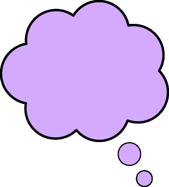 svg transparent library Vector color bubble. Thought purpl clip art